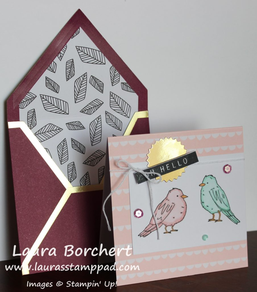 Little Birdies, www.LaurasStampPad.com