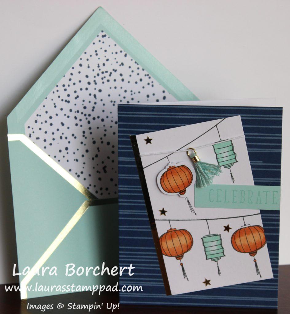 Paper Lanterns, www.LaurasStampPad.com