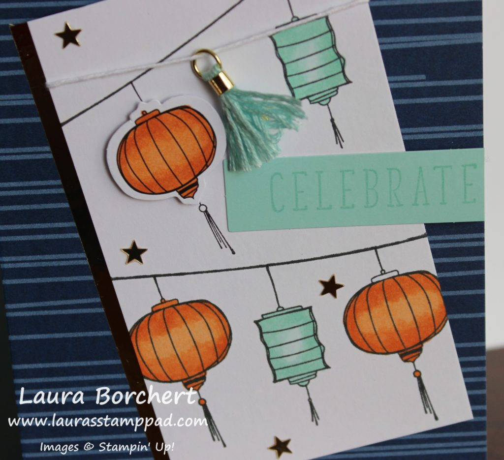Party Line of Lanterns, www.LaurasStampPad.com