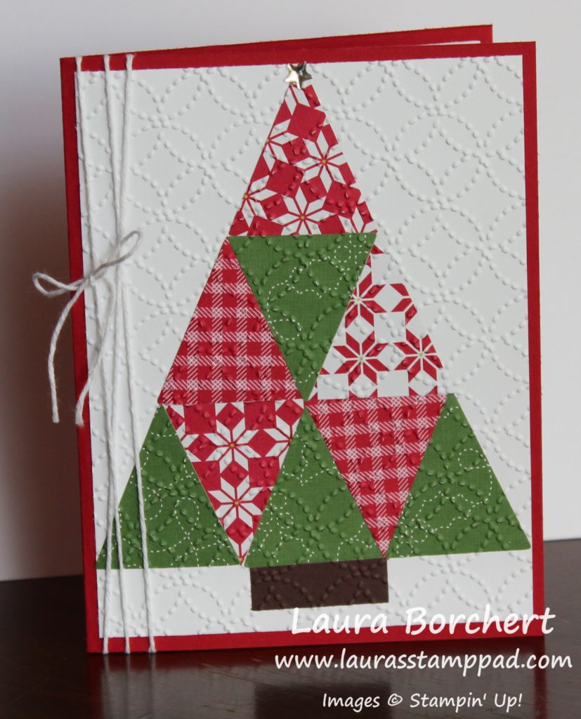 Quilted Tree, www.LaurasStampPad.com
