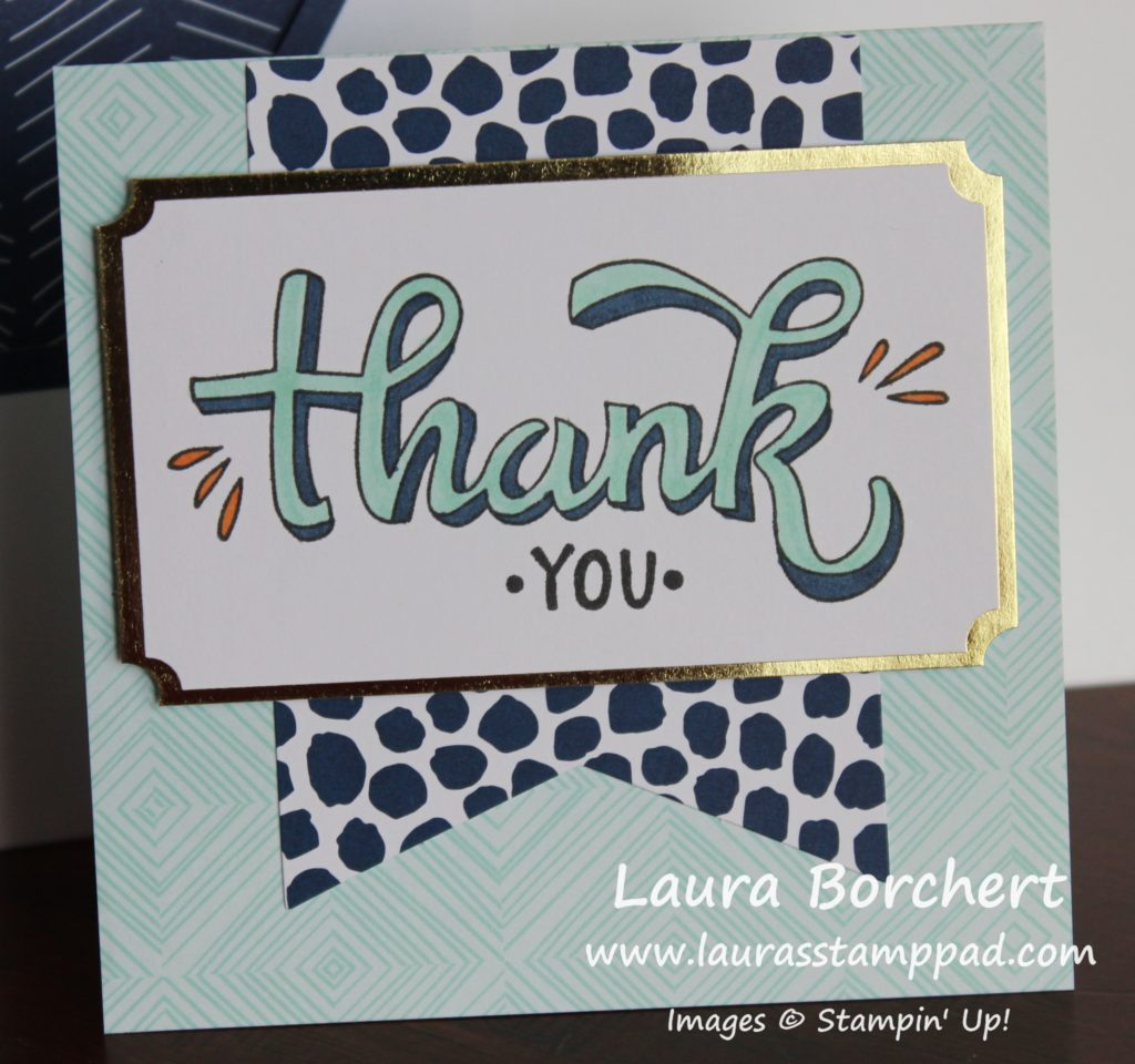 Thank you, www.LaurasStampPad.com