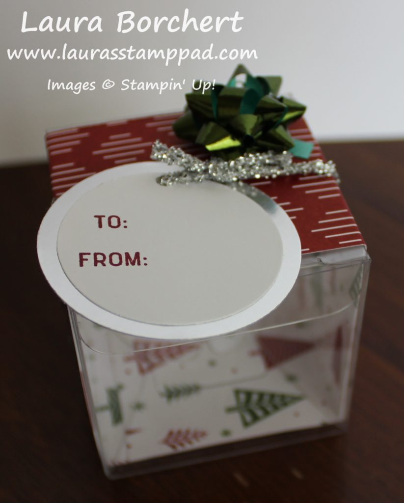 Be Merry Treat Box, www.LaurasStampPad.com