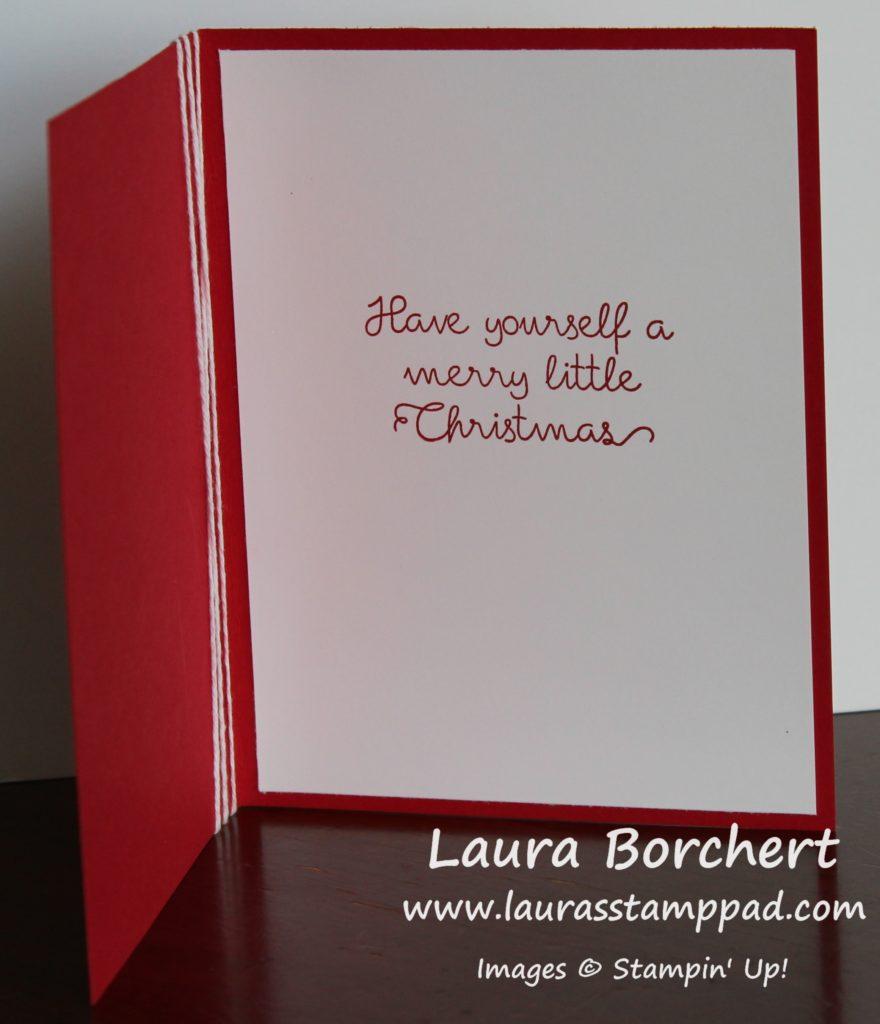 Merry Little Christmas, www.LaurasStampPad.com