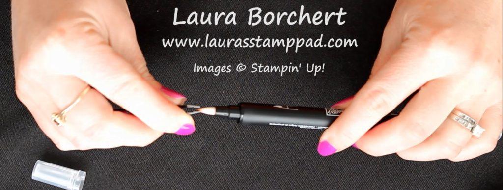 Blender Pen Tip, www.LaurasStampPad.com