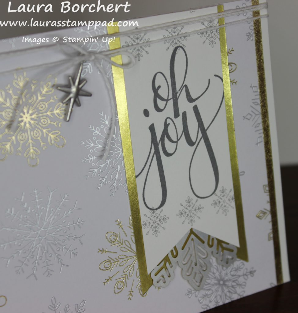 Joy of Snowflakes, www.LaurasStampPad.com