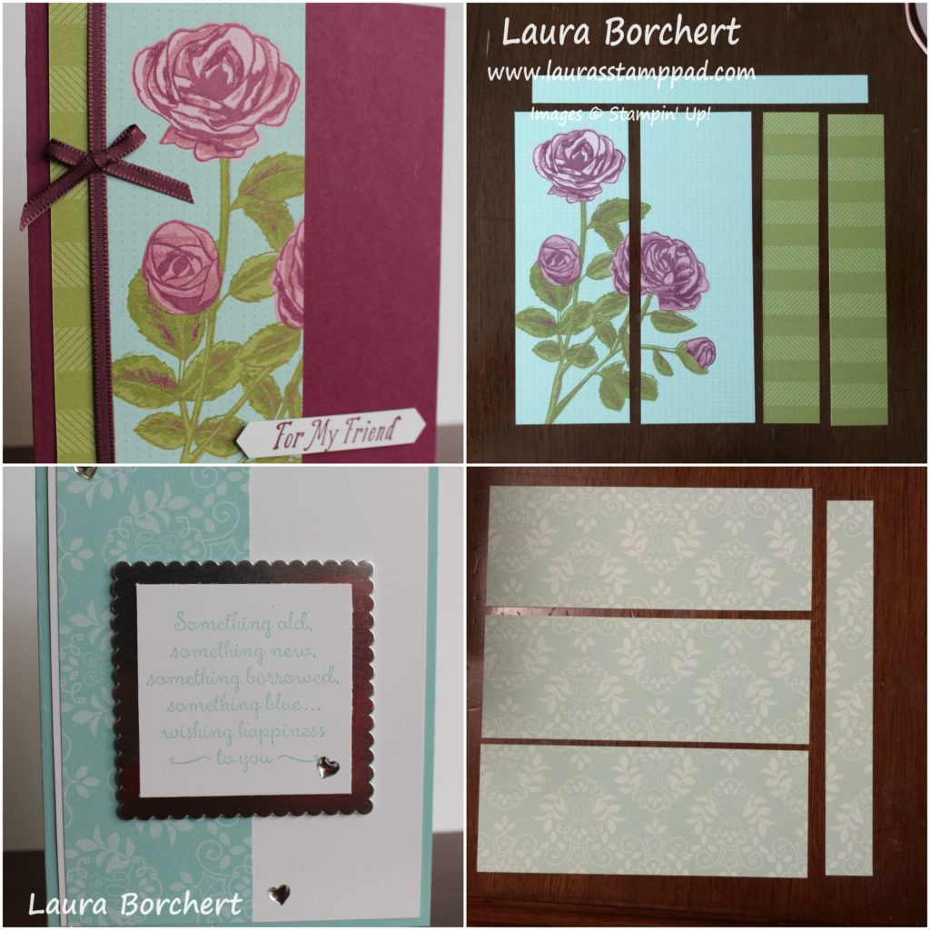 Something borrowed, something blue, www.LaurasStampPad.com