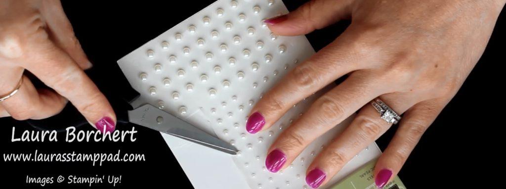 Scissor Tweezers, www.LaurasStampPad.com