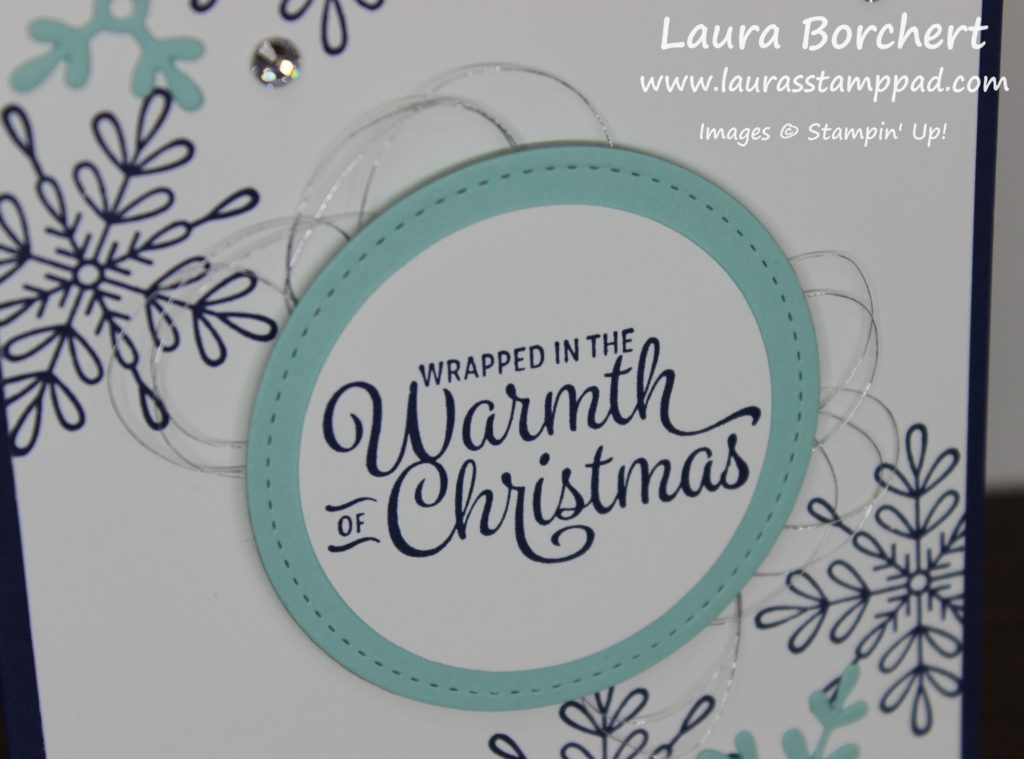 Snowflakes This Christmas, www.LaurasStampPad.com
