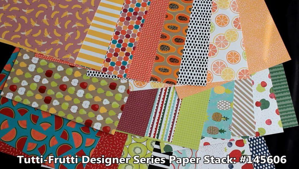 Tutti Frutti, www.LaurasStampPad.com