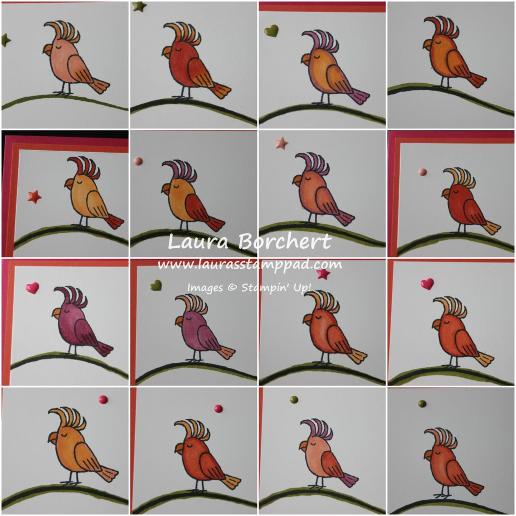 All The Birdies, www.LaurasStampPad.com