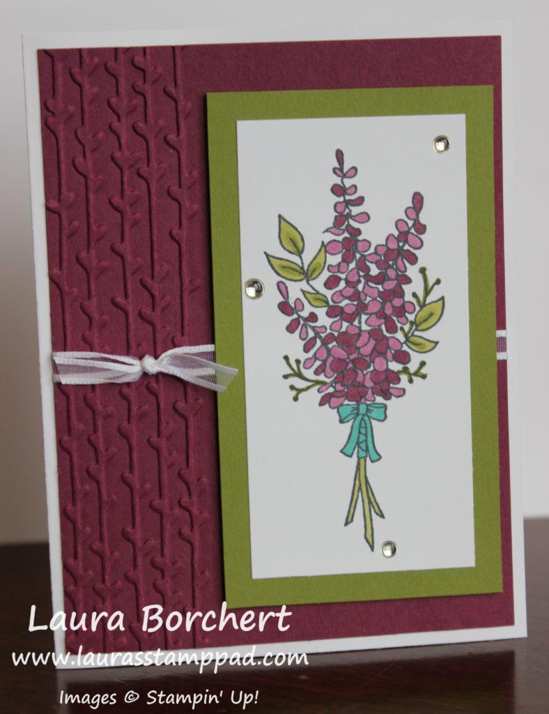 Lots of Lavender, www.LaurasStampPad.com