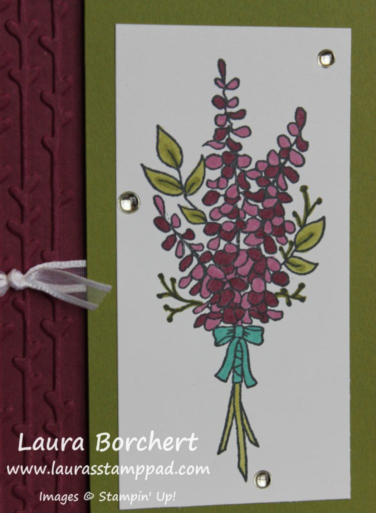 Flowers Sale-A-Bration, www.LaurasStampPad.com