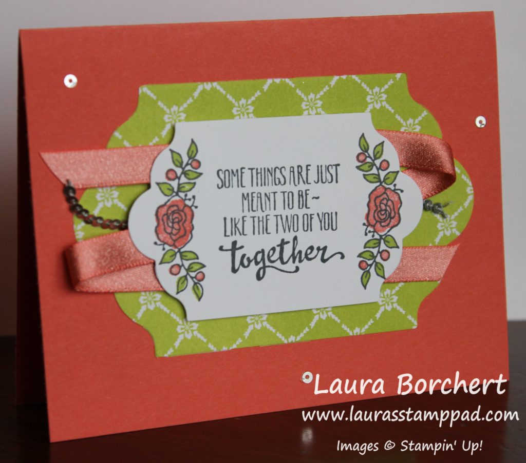 Some Things Are Just Meant To Be, www.LaurasStampPad.com