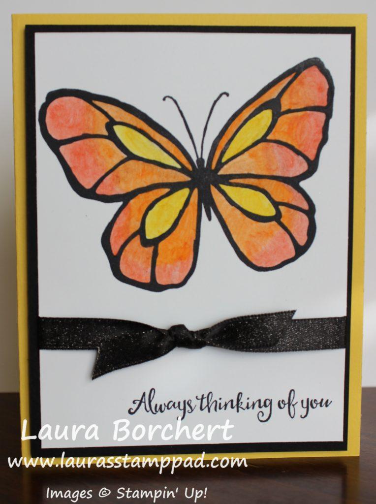 Blending Butterflies, www.LaurasStampPad.com