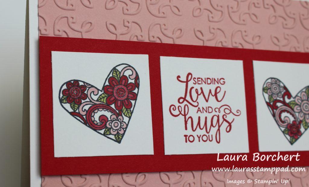 Love & Hugs, www.LaurasStampPad.com