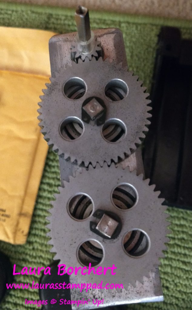 New Cogs, www.LaurasStampPad.com