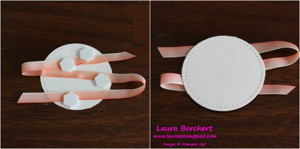 Ribbon Loops, www.LaurasStampPad.com