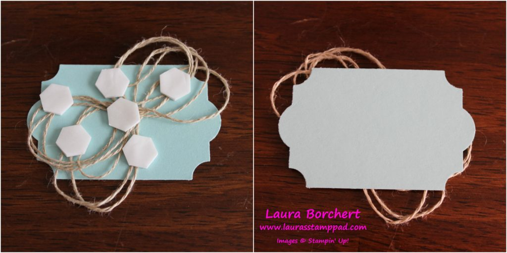 Rustic Ribbon Trick, www.LaurasStampPad.com