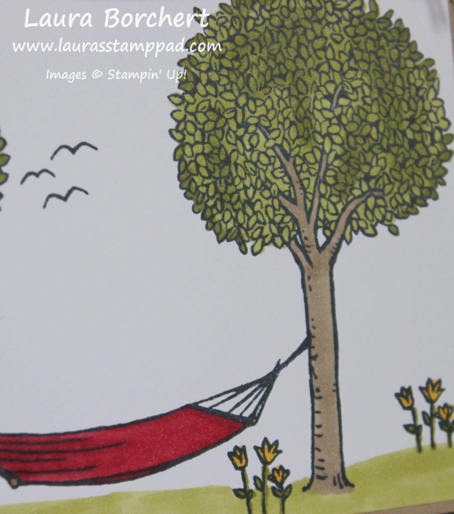 Spring Flowers & Trees, www.LaurasStampPad.com