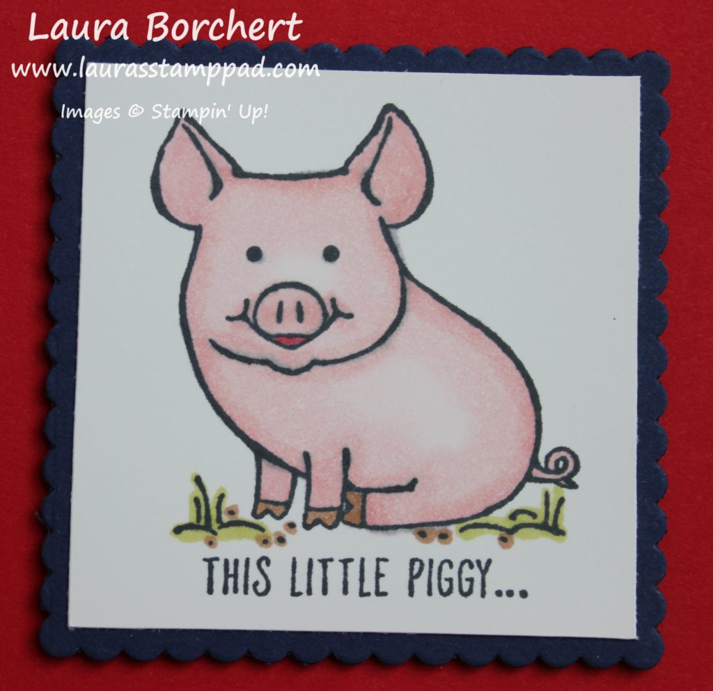 This Little Piggy, www.LaurasStampPad.com