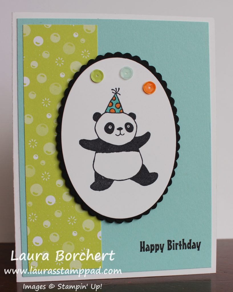Party Pandas, www.LaurasStampPad.com