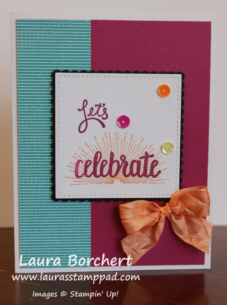 Let's Celebrate, www.LaurasStampPad.com