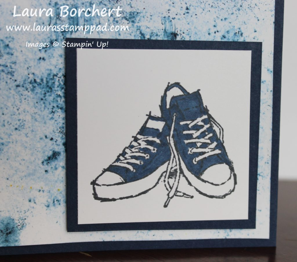 Navy Converse Shoes, www.LaurasStampPad.com