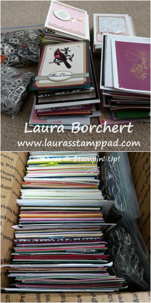 Ronald McDonald Donation, www.LaurasStampPad.com