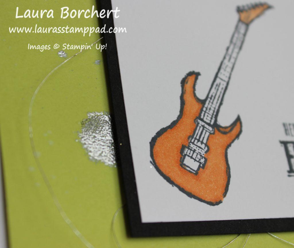 Silver Splatter, www.LaurasStampPad.com