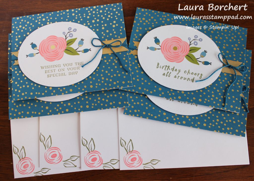Wishing You the Best, www.LaurasStampPad.com