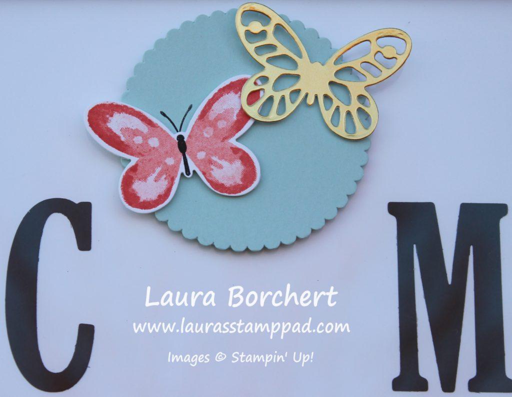 Butterflies, www.LaurasStampPad.com