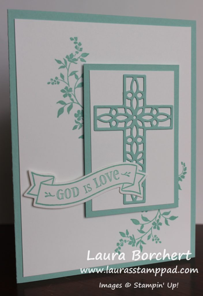 God Is Love, www.LaurasStampPad.com