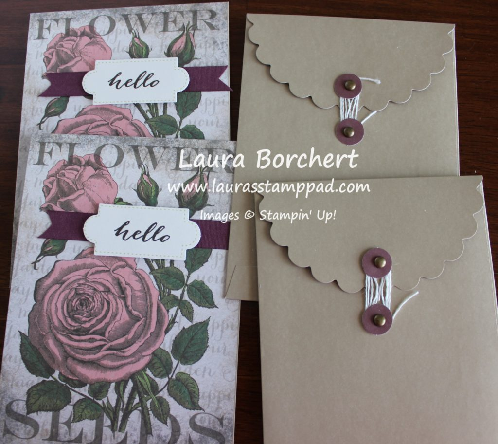 Seed Packet Envelopes, www.LaurasStampPad.com