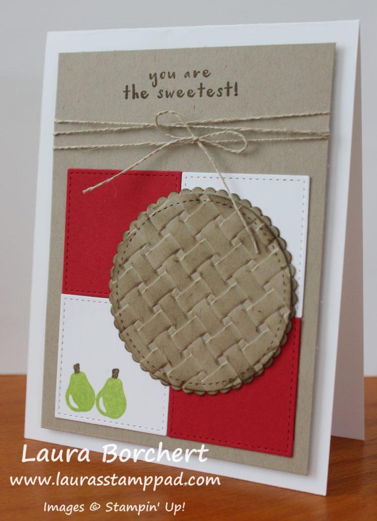 Baking Pies, www.LaurasStampPad.com