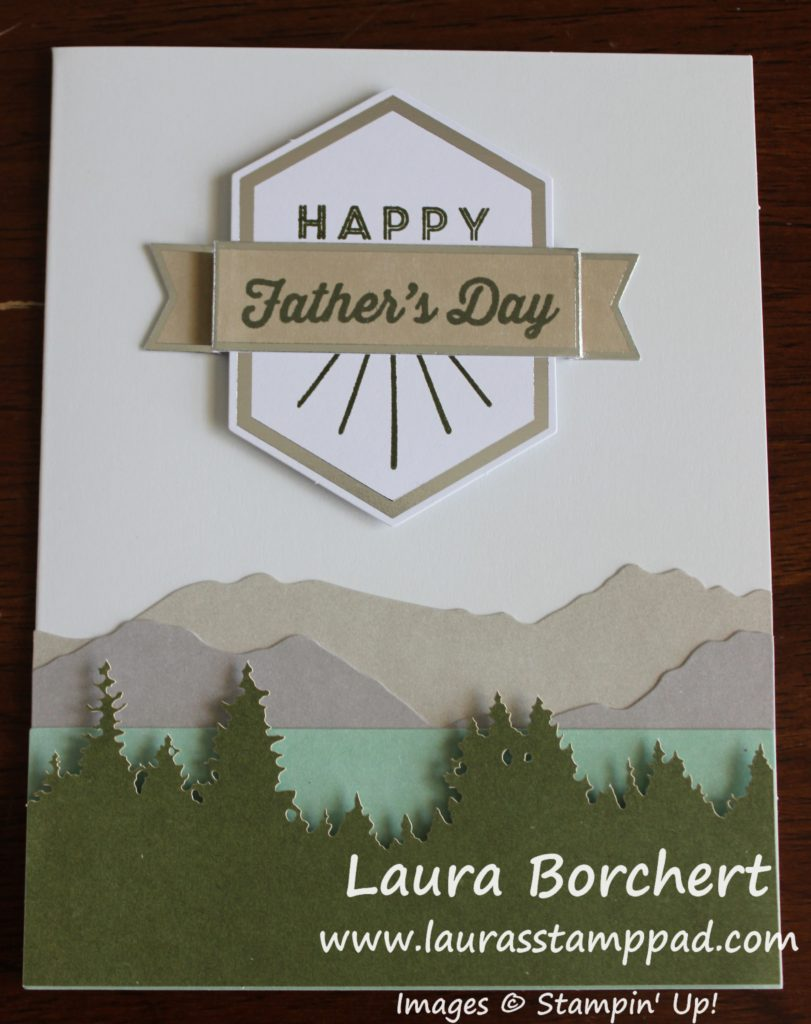 Happy Father's Day, www.LaurasStampPad.com