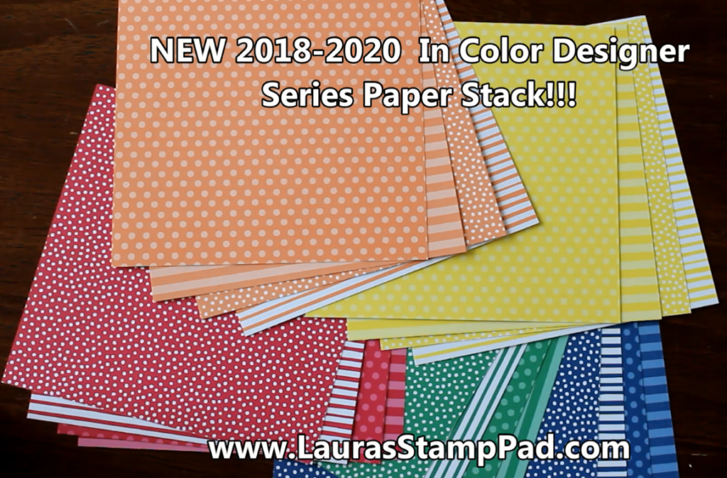 Stunning Designer Series Paper, www.LaurasStampPad.com