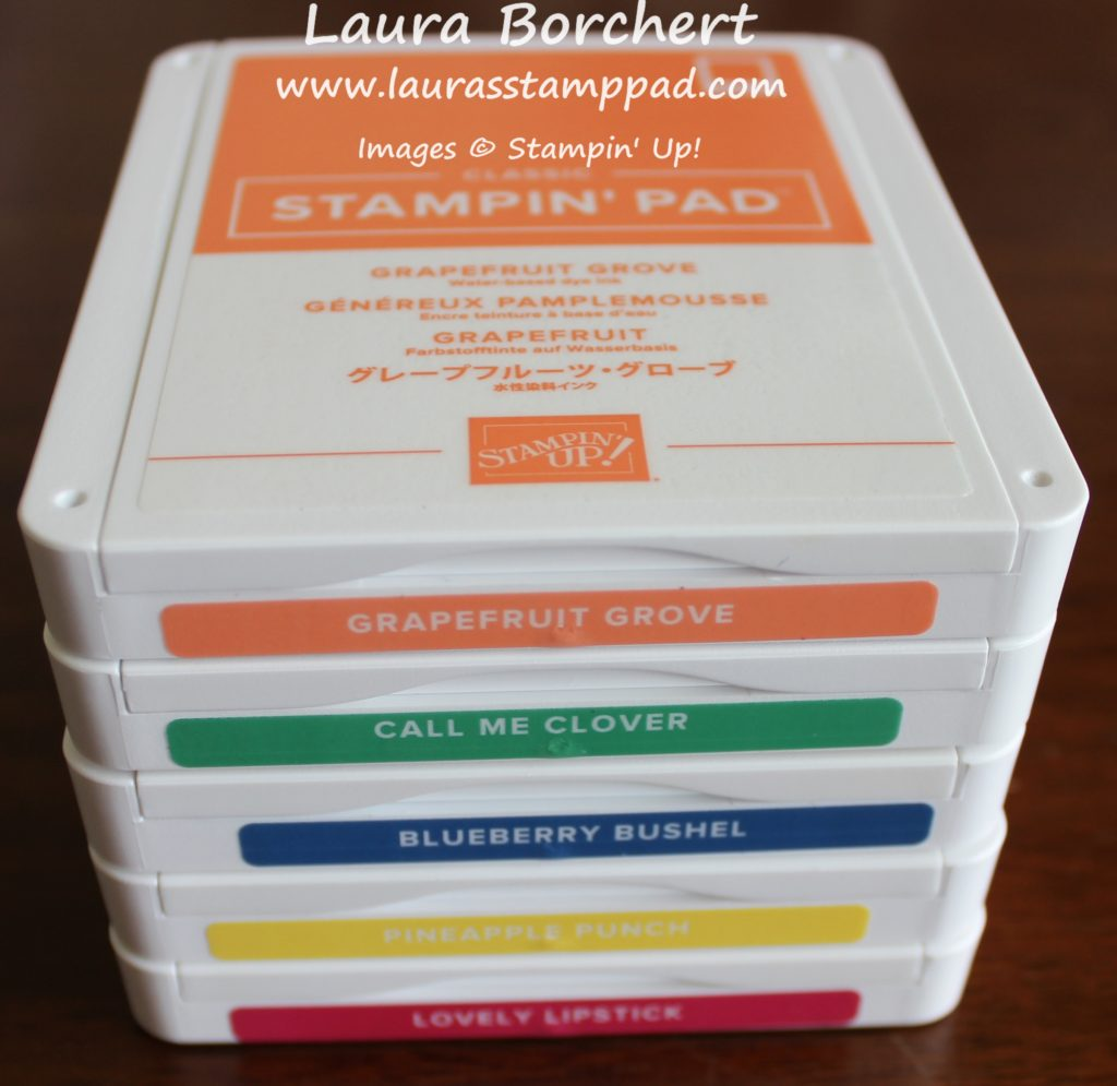 Stackable Ink Pads, www.LaurasStampPad.com