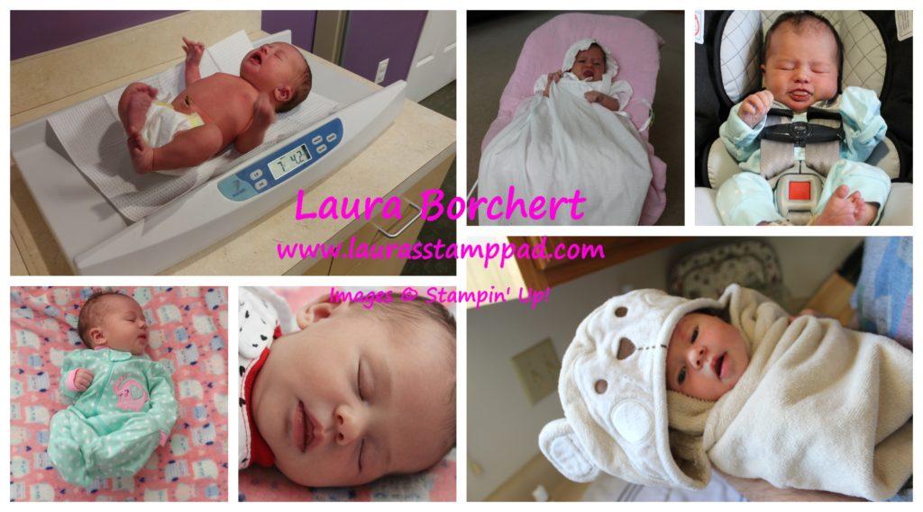I had a Baby, www.LaurasStampPad.com