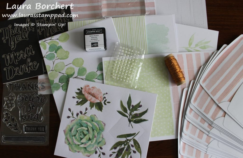 Notes of Kindness Card Kit, www.LaurasStampPad.com