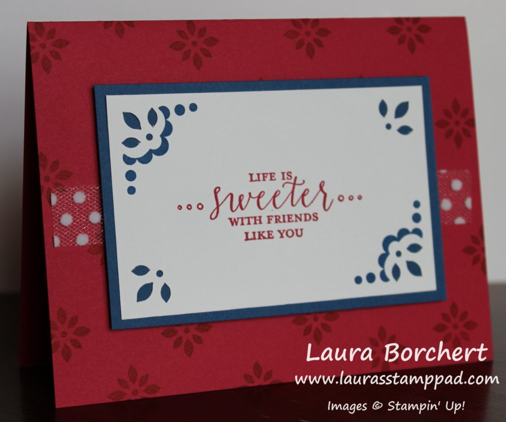 Simple Yet Detailed With Love, www.LaurasStampPad.com