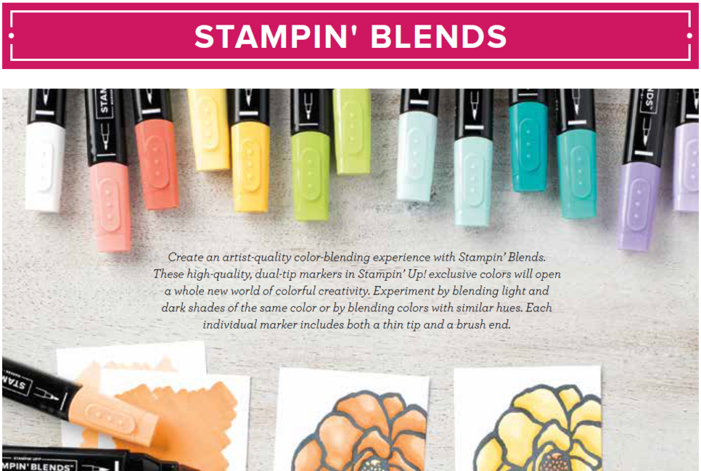 NEW Colors of Stampin' Blends, www.laurasstamppad.com