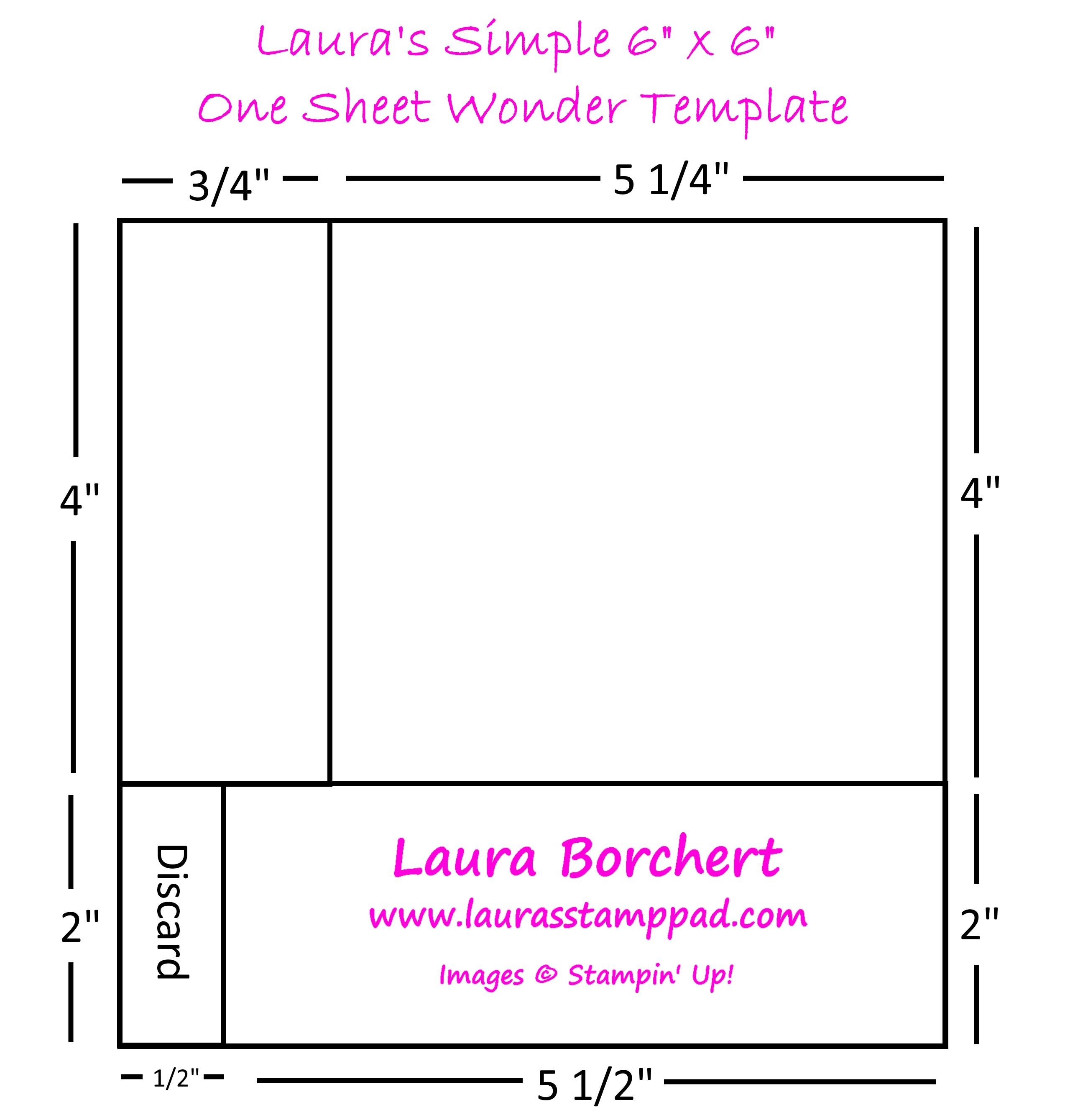 One Sheet Wonder Archives - Laura's Stamp PadLaura's Stamp Pad - photo#13