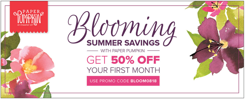 Blooming Summer, www.LaurasStampPad.com