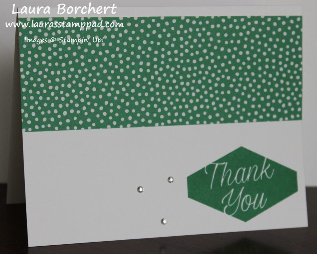 Dots of Thanks, www.LaurasStampPad.com