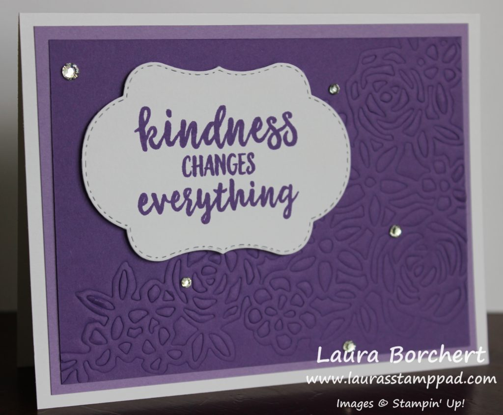 Creating 2 Cards with 1 Die, www.LaurasStampPad.com