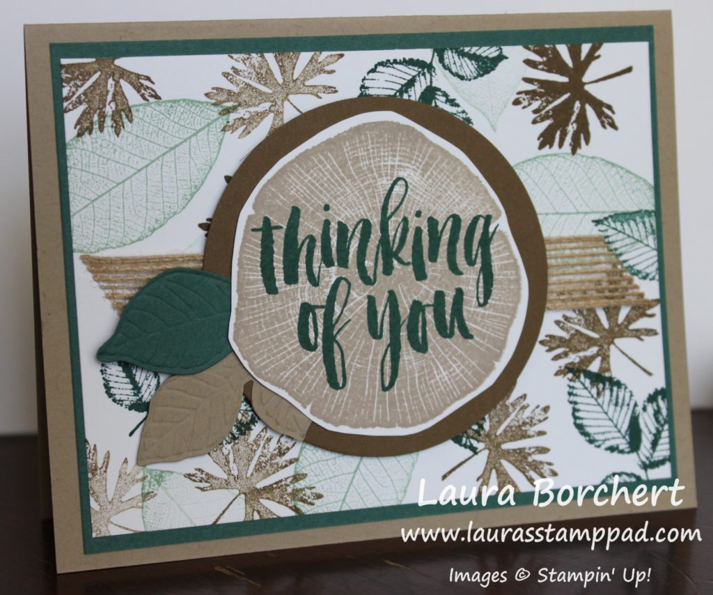 Trees & Leaves for Any Occasion, www.LaurasStampPad.com
