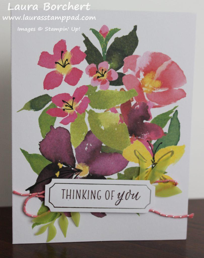 Vellum Florals, www.LaurasStampPad.com