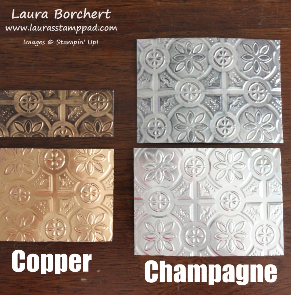 Copper & Champagne, www.LaurasStampPad.com