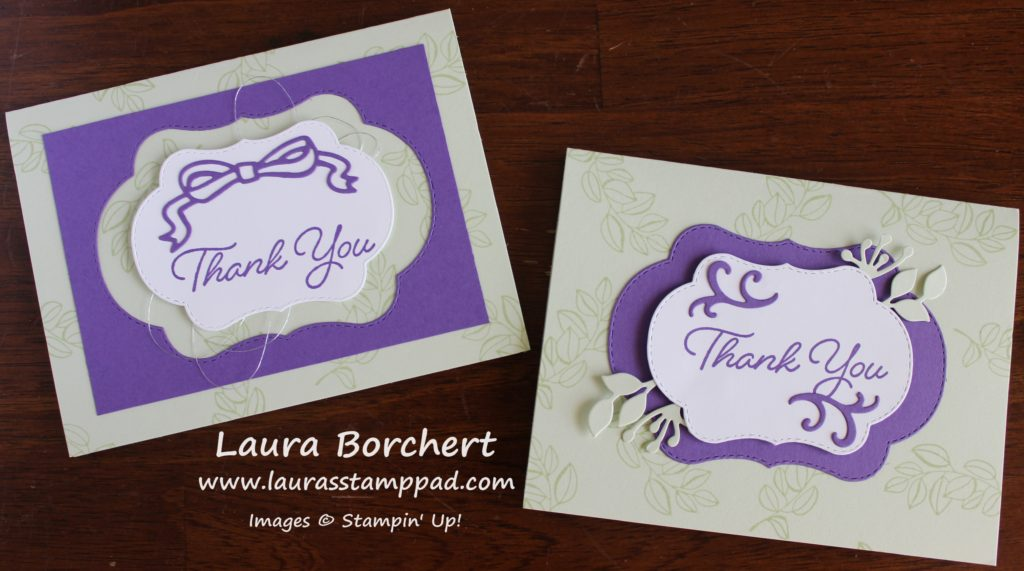 Die Cuts & Negatives, www.LaurasStampPad.com