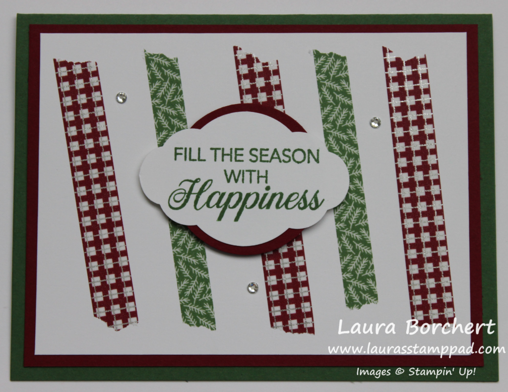 Duplicate-able Holiday Card, www.LaurasStampPad.com